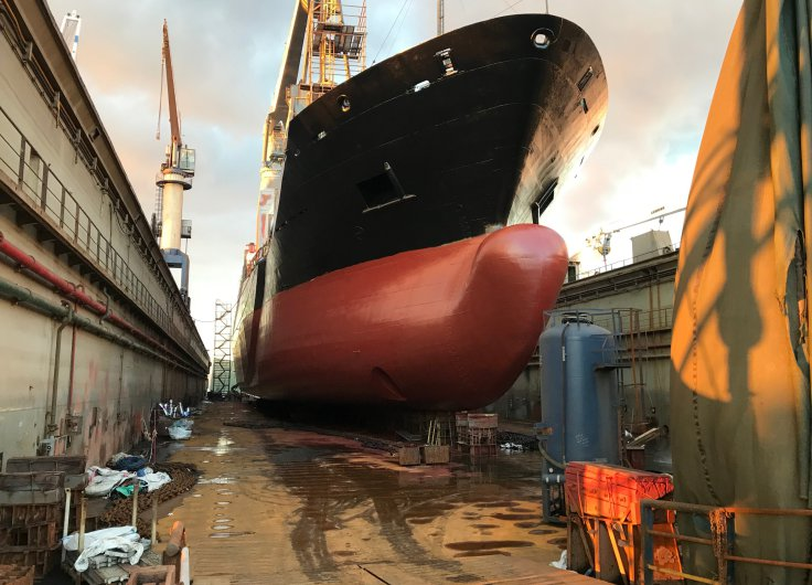 Impressions from our MV VEGA in drydock